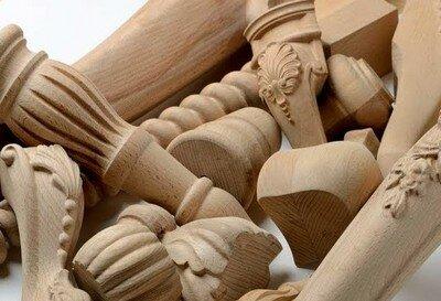 Деревянные резные ножки для мебели